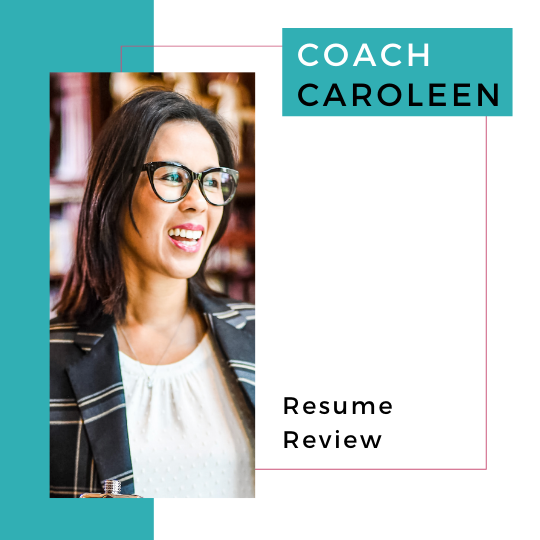 Coach Caroleen - Resume Review